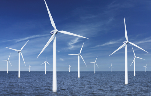 windmills at sea