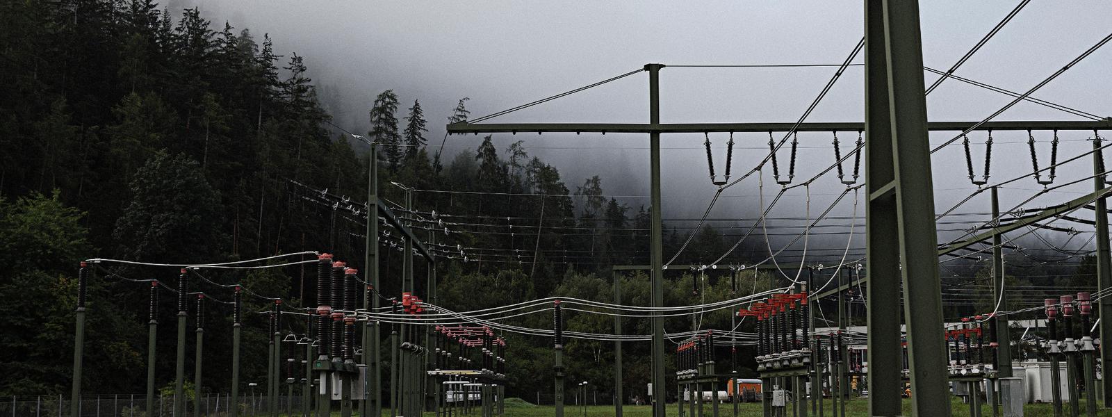 Transformer station in the Tyrol
